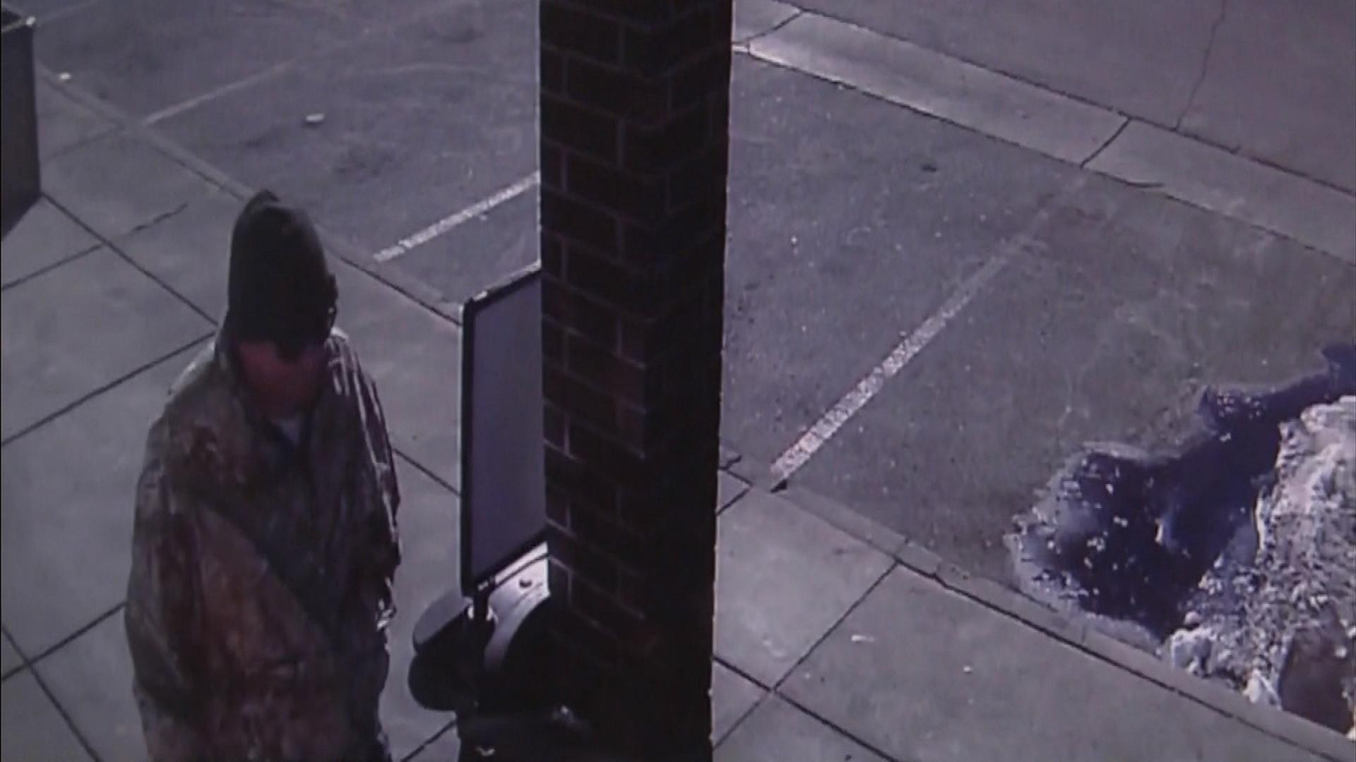 An image of the suspect (credit: CBS)