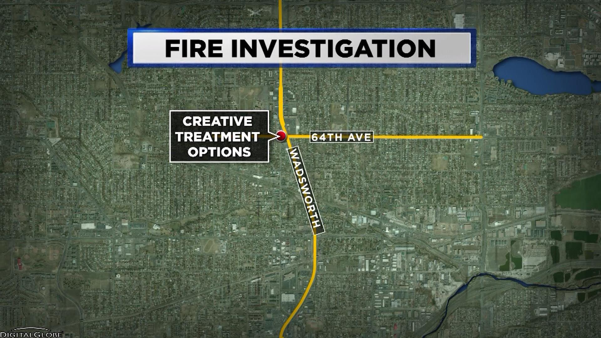 ARVADA FIRE map