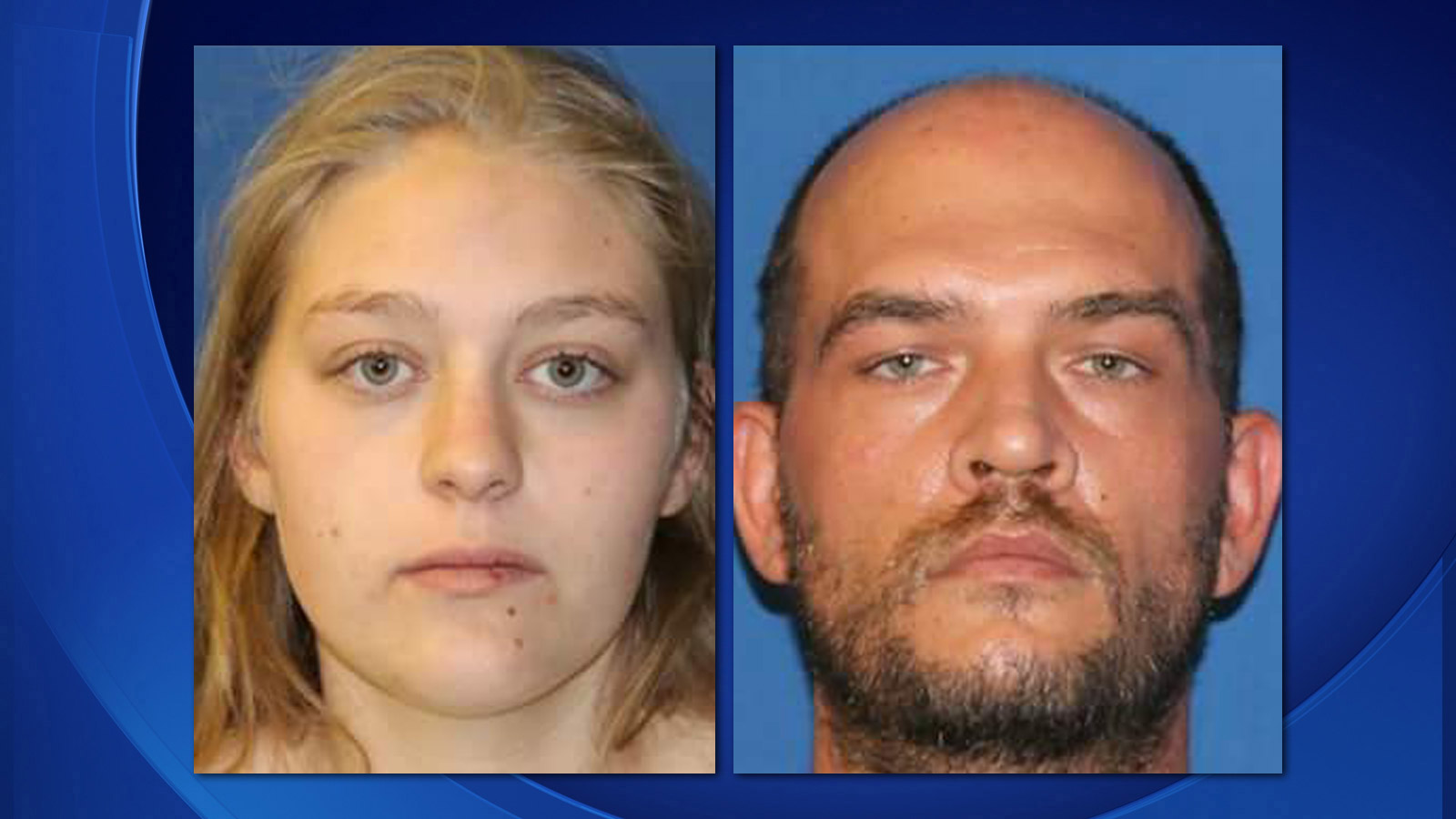 Courtney Plante and Sean Overstreet (credit: Fremont County)