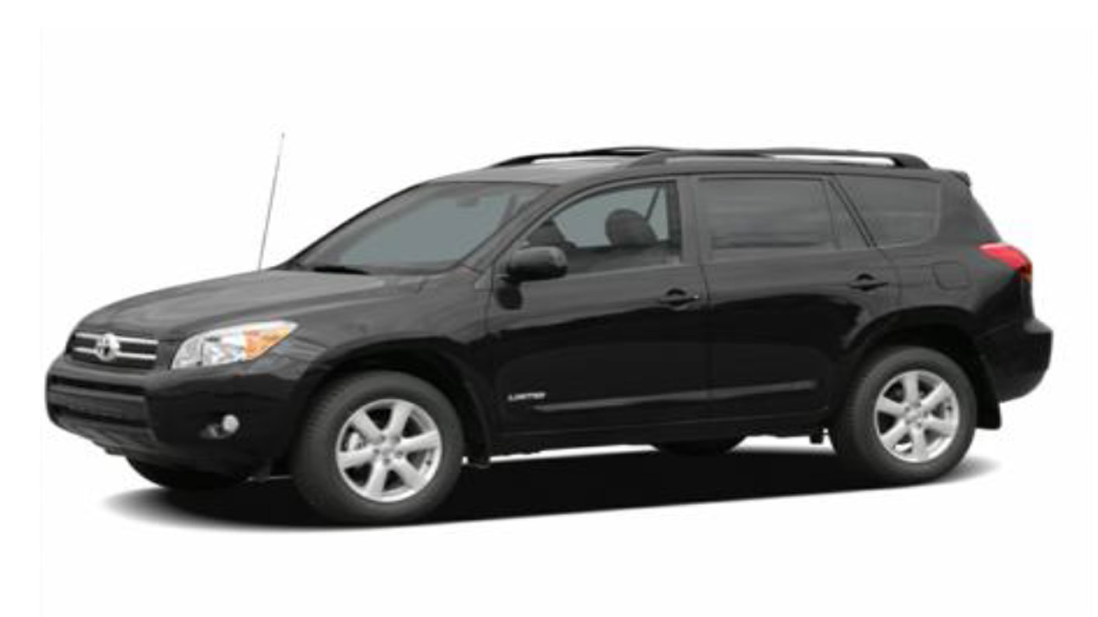 An SUV like the one pictured was used in a series of armed robberies on Sunday evening. (credit: Denver Police)