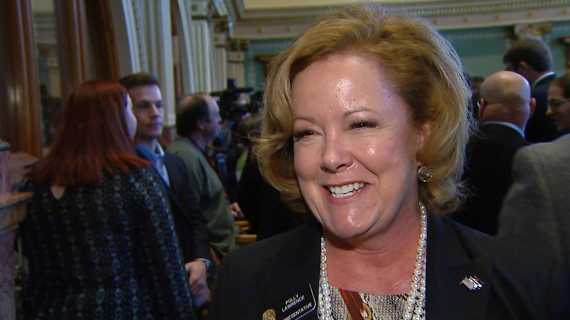 Rep. Polly Lawrence, R-Douglas County (credit: CBS)