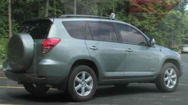A 2007 Toyota Rav4 similar to the suspect's vehicle (credit: Longmont Police Department)