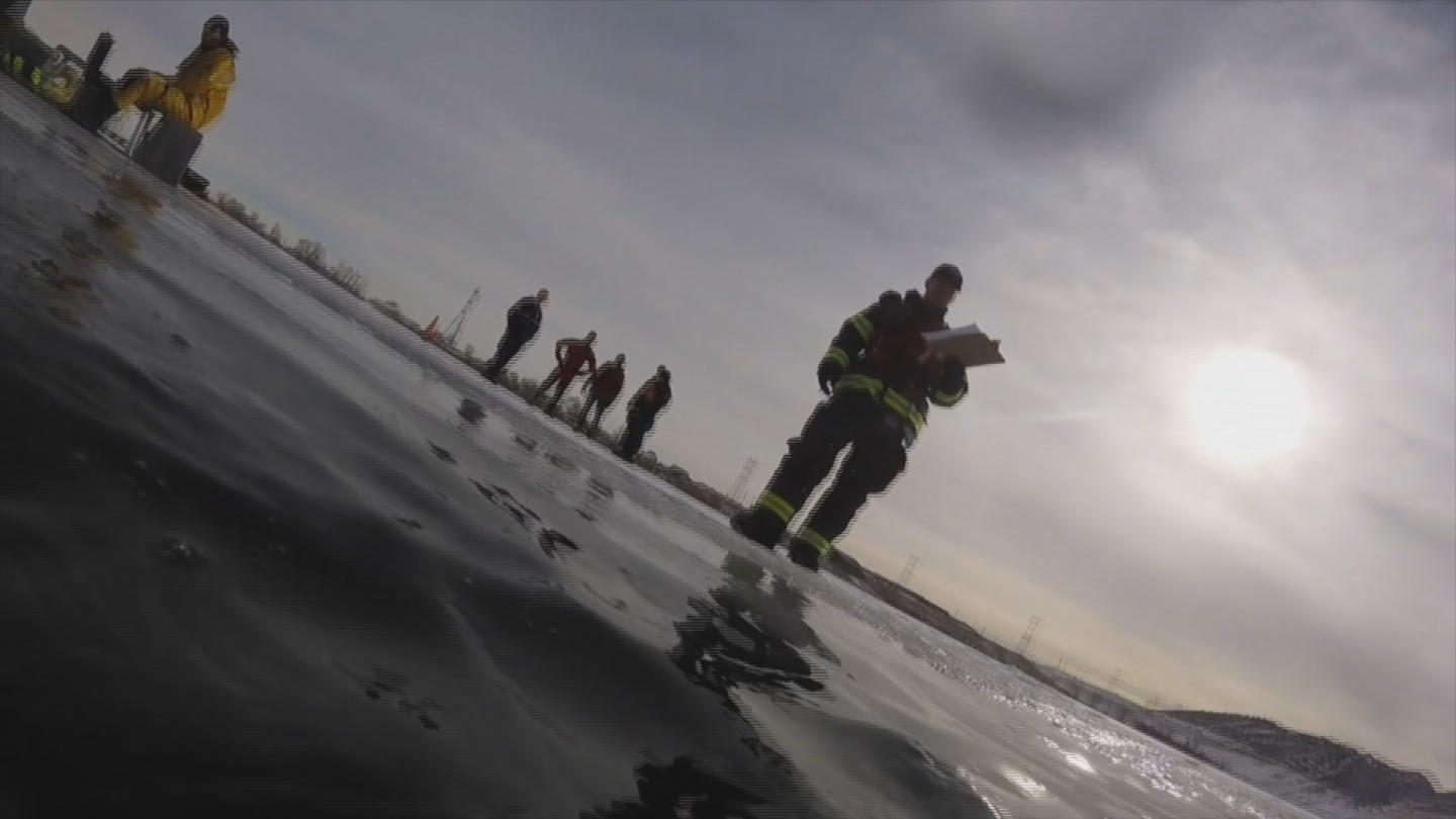 Underwater training for West Metro Fire Rescue (credit: West Metro Fire Rescue)
