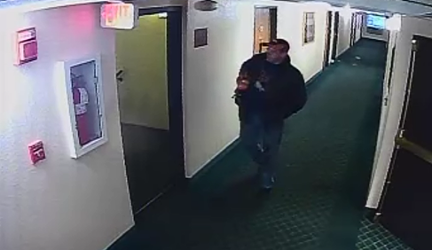 Police want to talk to a person of interest after a woman was stabbed (credit: Wheat Ridge Police)