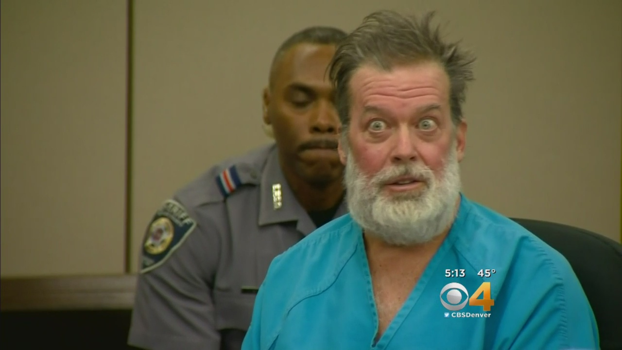 Robert Lewis Dear in court (credit: CBS)