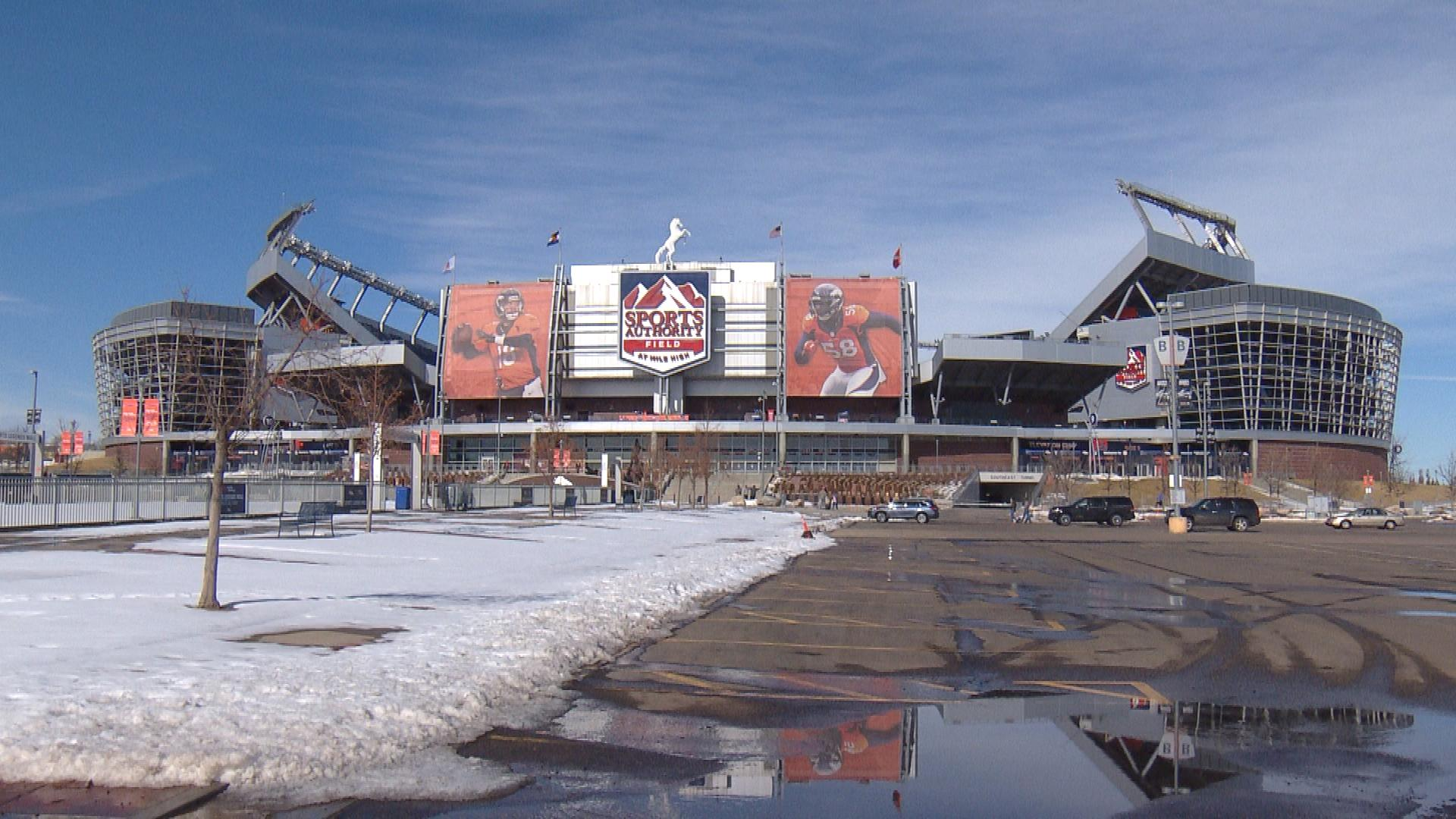 Sports Authority Field at Mile High (credit: CBS)