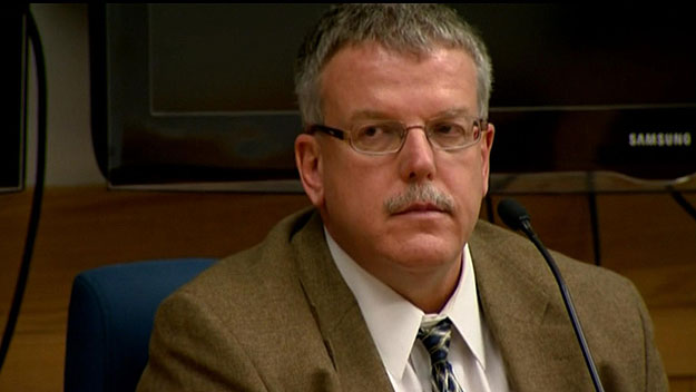 Dr. James Wilkerson on the stand on Wednesday (credit: CBS)