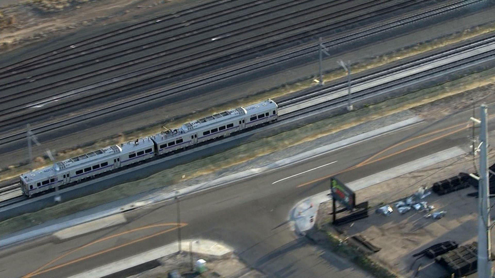 The A Line commuter train to DIA (credit: CBS)