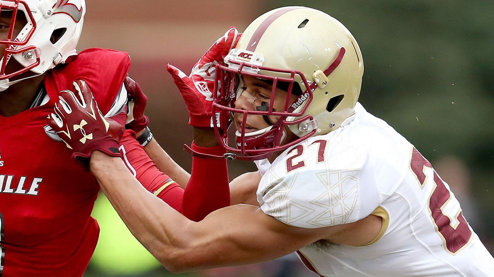 Justin Simmons of the Boston College Eagles (credit: Andy Lyons/Getty Images)