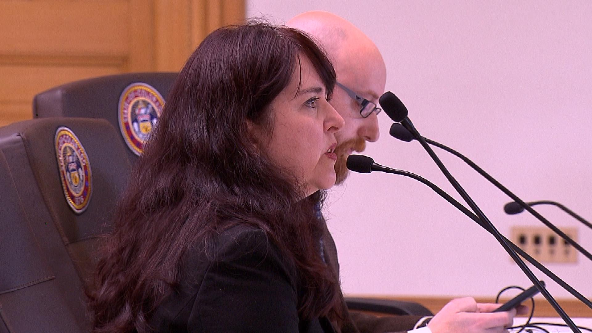 Kathleen Sullivan, a lawyer for the Colorado Association of School Boards (credit: CBS)