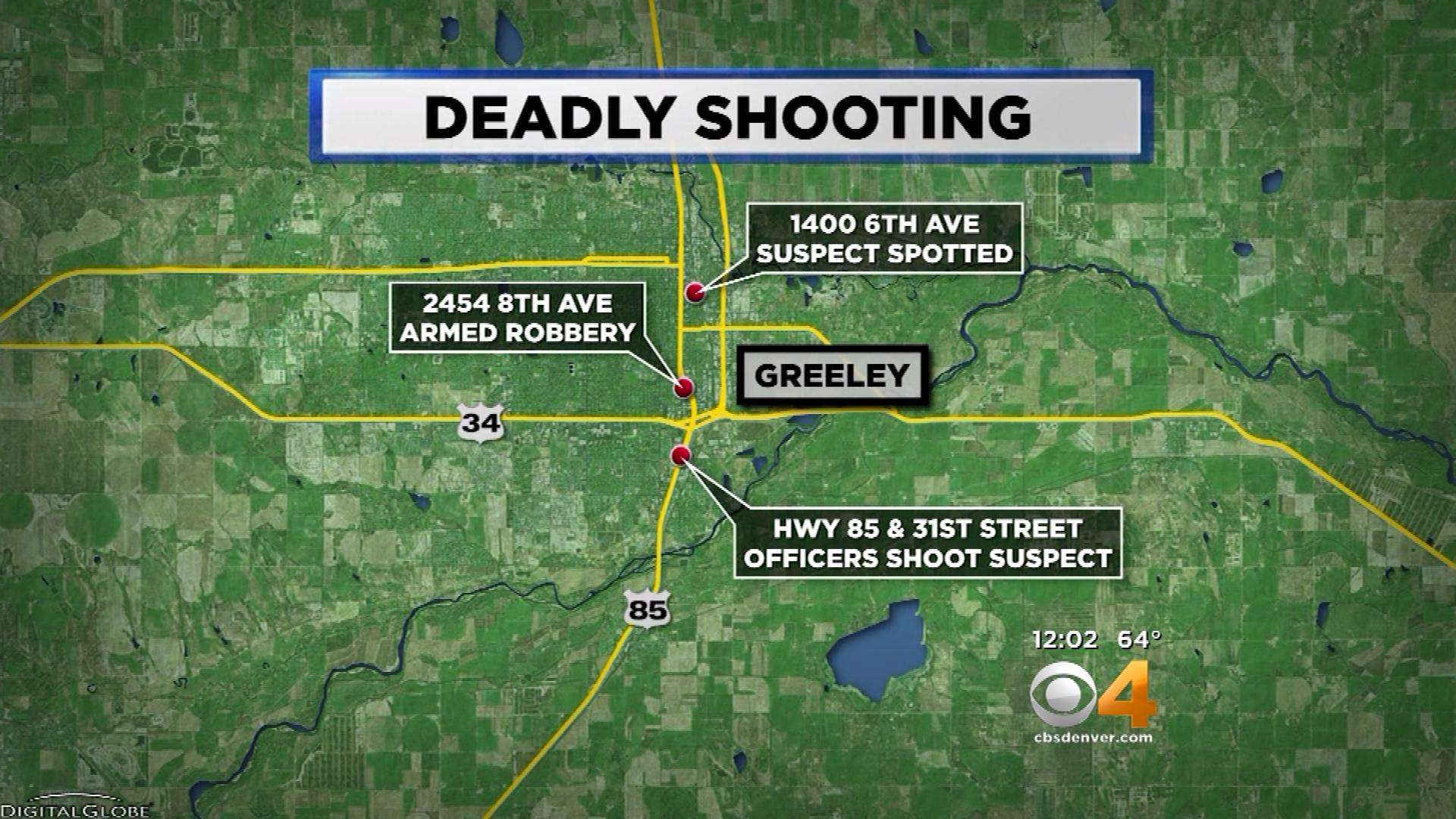 Deadly Shooting Map