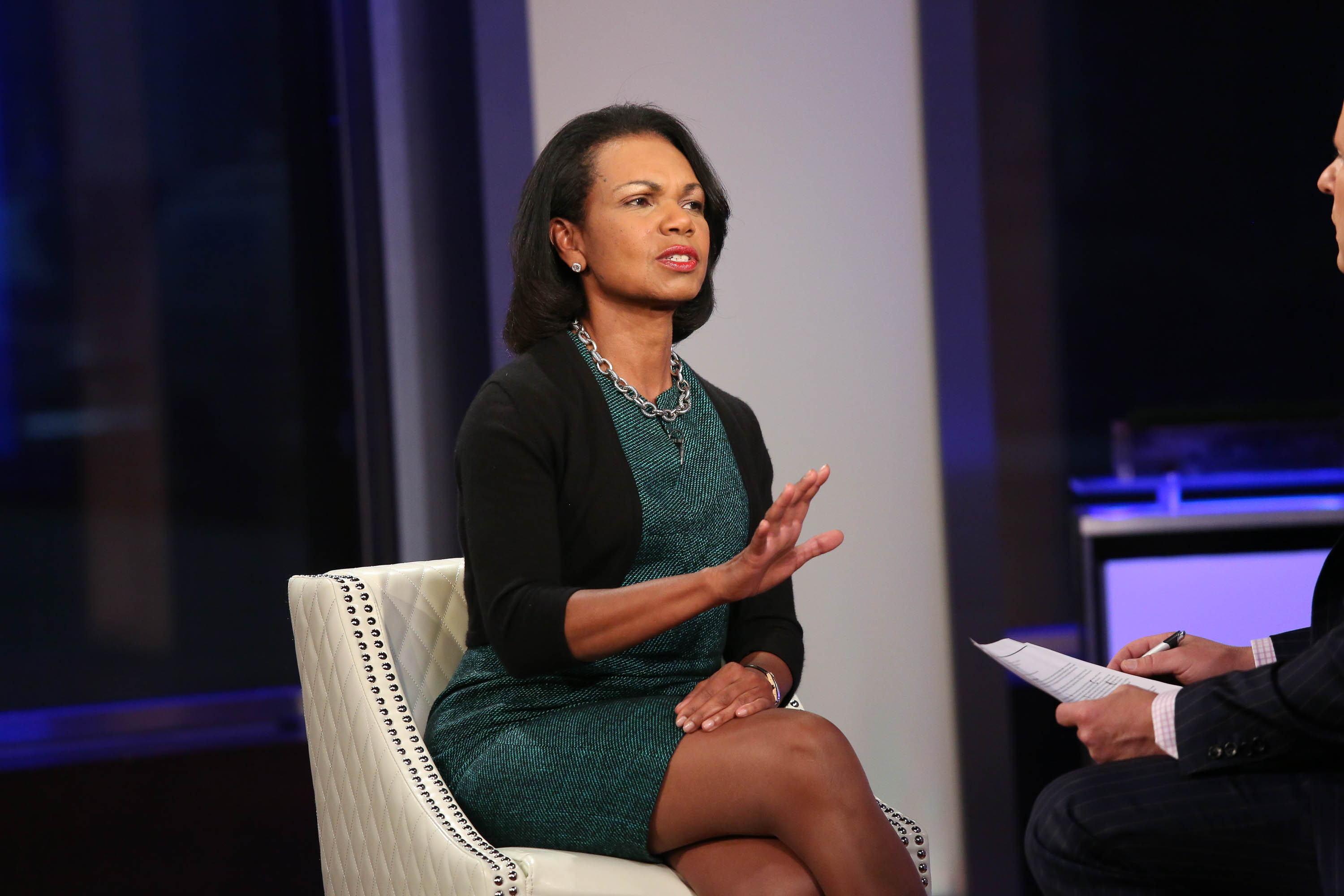 Condoleezza Rice on Nov. 5, 2014 in New York City.  (Photo by Rob Kim/Getty Images)
