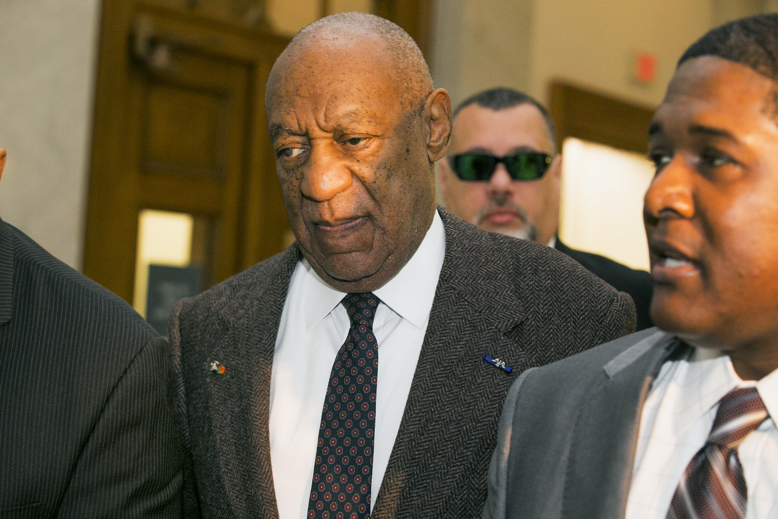 Bill Cosby arrives at the Montgomery County Courthouse Feb. 3, 2016 in Norristown, Pennsylvania. (credit: Ed Hille-Pool/Getty Images)
