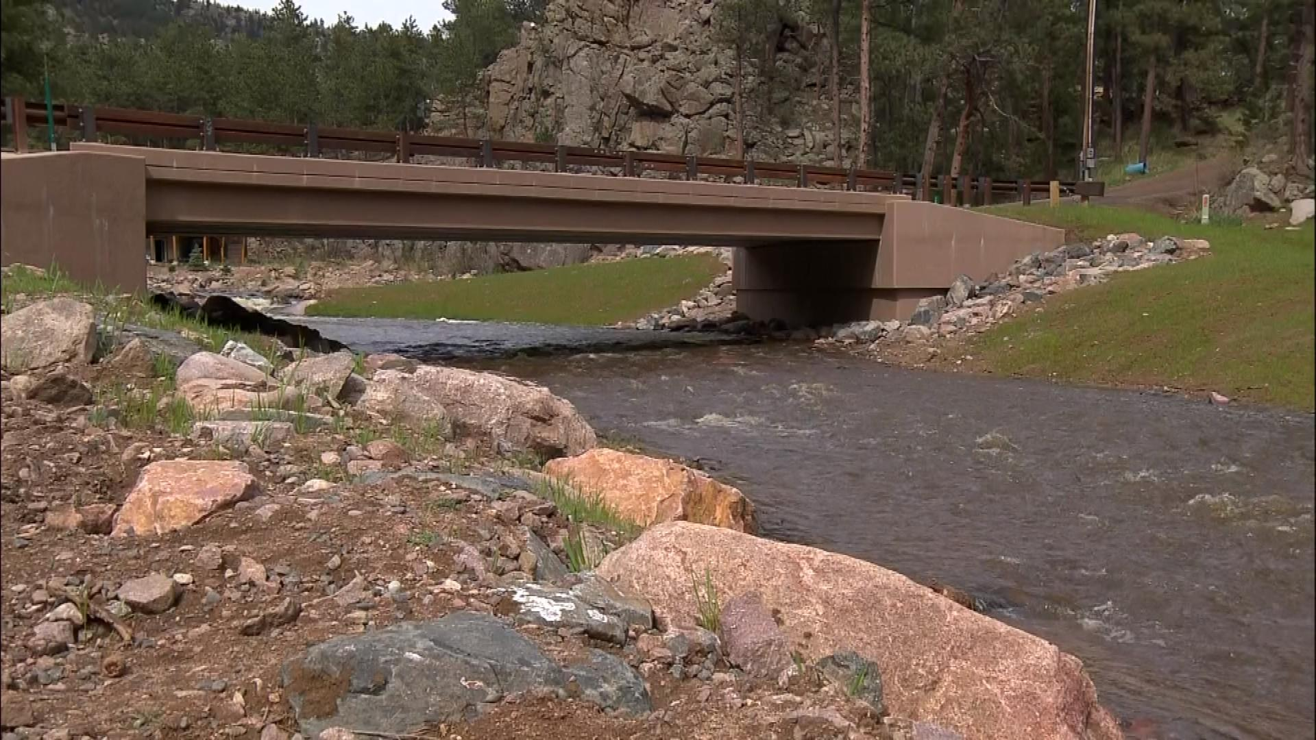 The Little Thompson River (credit: CBS)