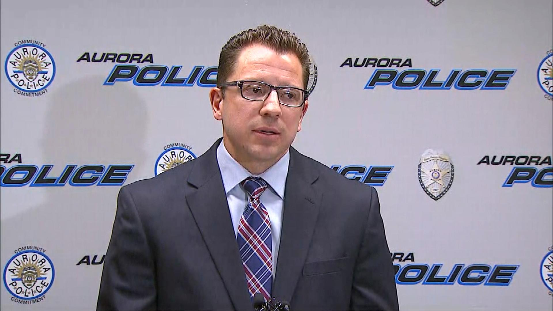 Major Crimes Sgt. Matt Fyles at the news conference on Tuesday (credit: CBS)