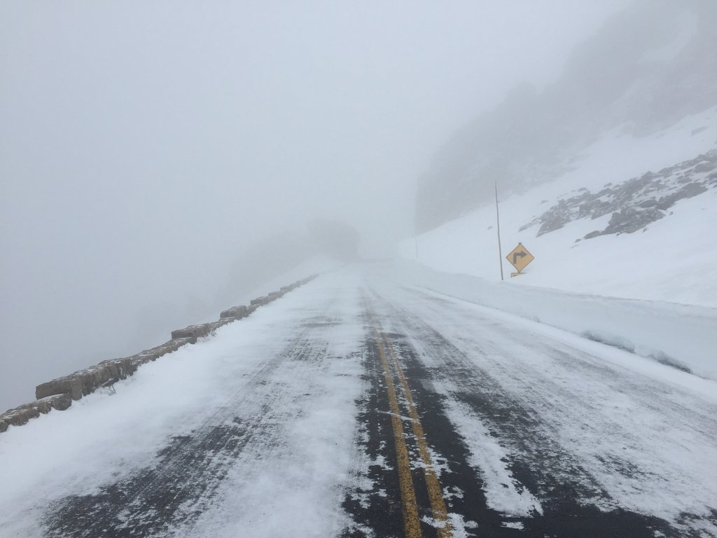 Trail Ridge Road on Friday (credit: RMNP)