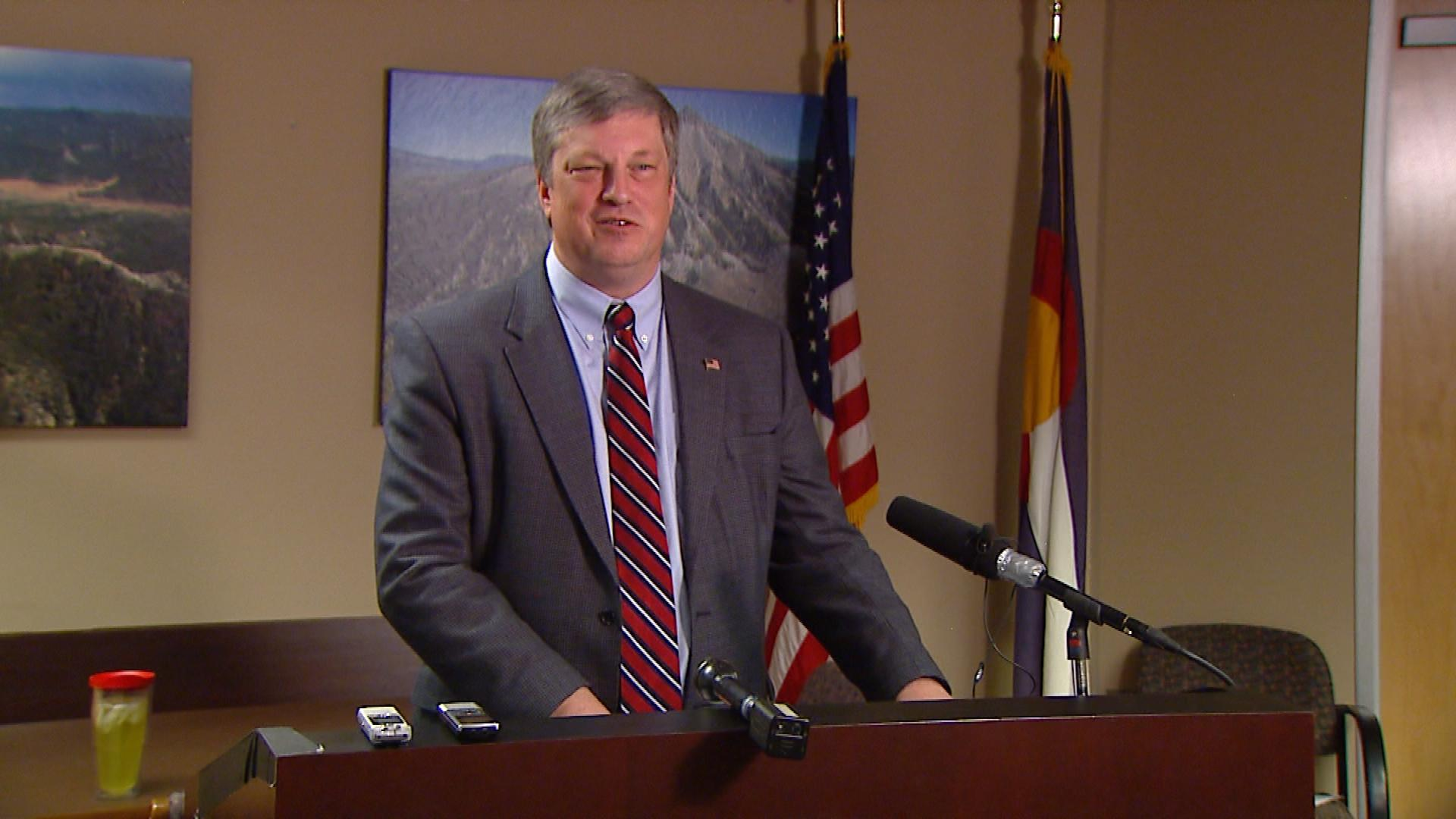 Colorado Secretary of State Wayne Williams (credit: CBS)