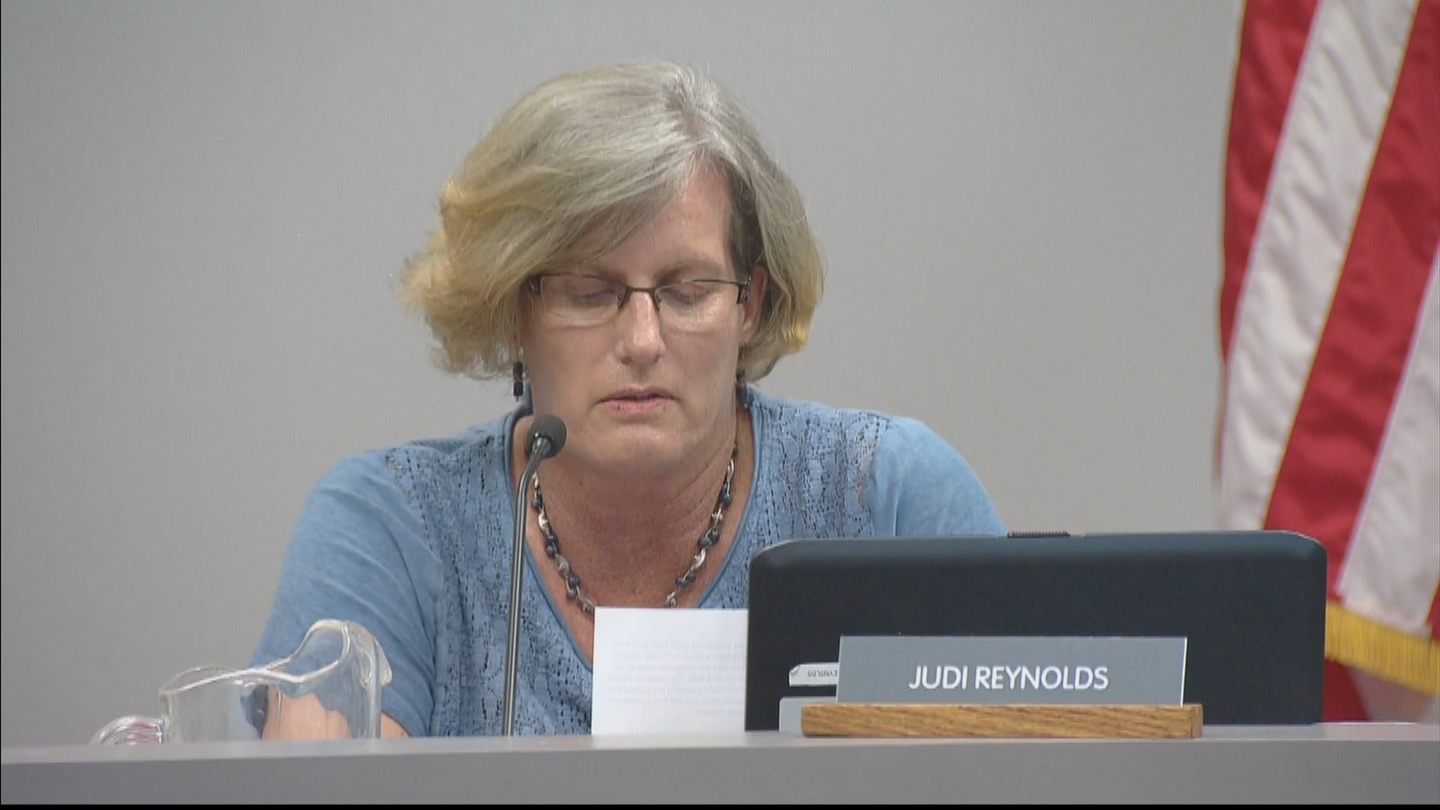 Douglas County School Board Member Judi Reynolds (credit: CBS)