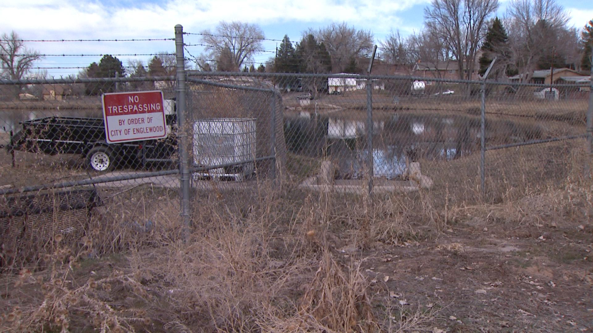 The Allen Water Treatment Facility in Englewood (credit: CBS)
