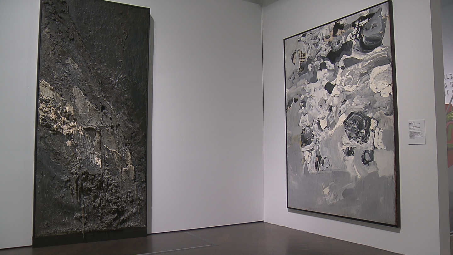 Women of Abstract Expressionism at the Denver Art Museum (credit: CBS)