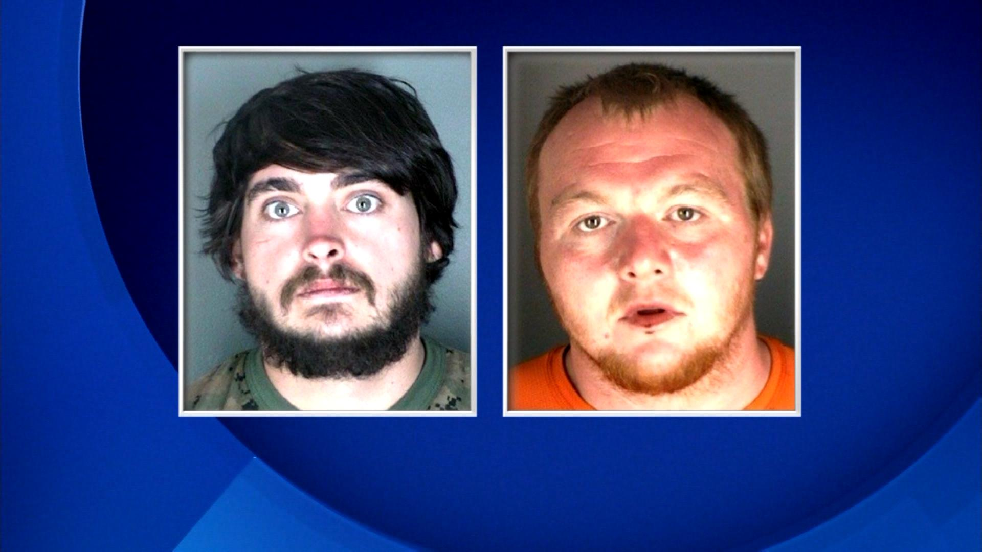 Zachary Ryan Kuykendall, left, and Jimmy Andrew Suggs, right (credit: Boulder County)
