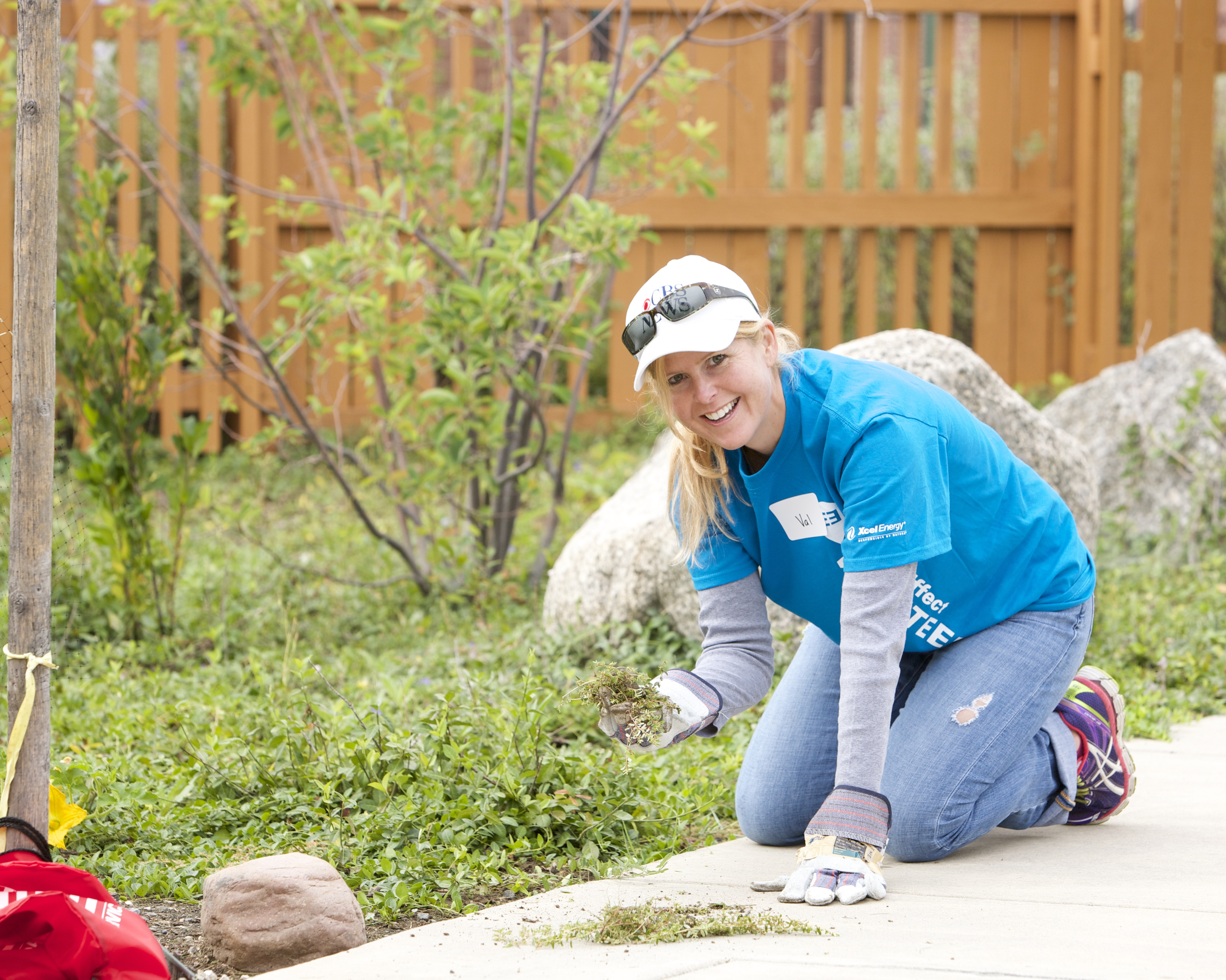Day of Service at Anchor Center for Blind Children 2014 (Credit Xcel Energy)