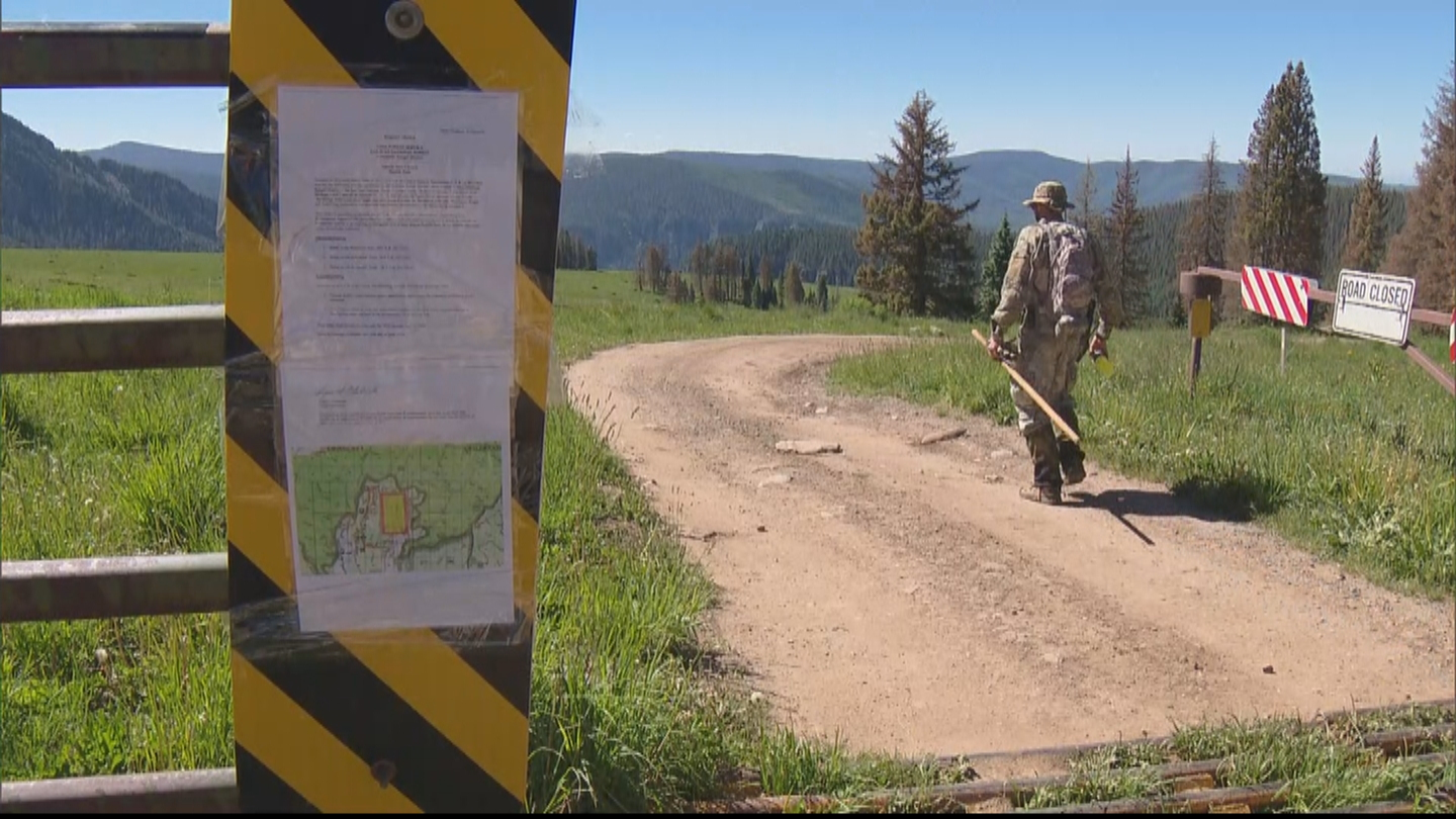 Crews searched for clues in Dylan Redwine's death (credit: CBS)
