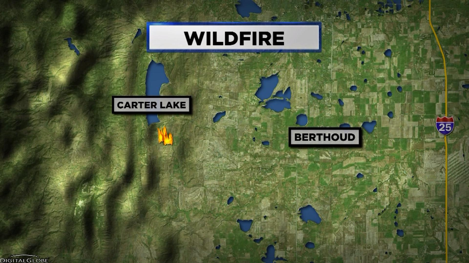 BERTHOUD FIRE MAP