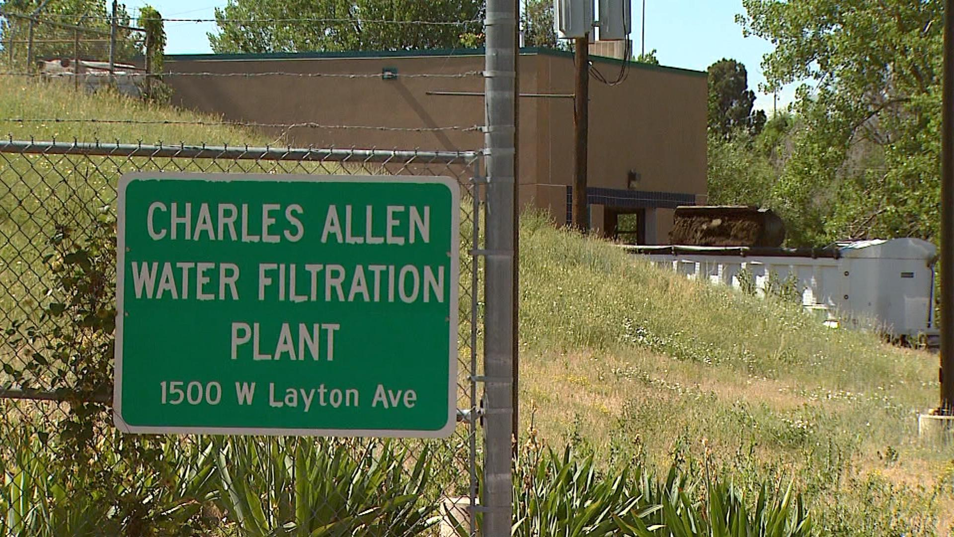 The Charles Allen Water Filtration Plant in Englewood (credit: CBS)