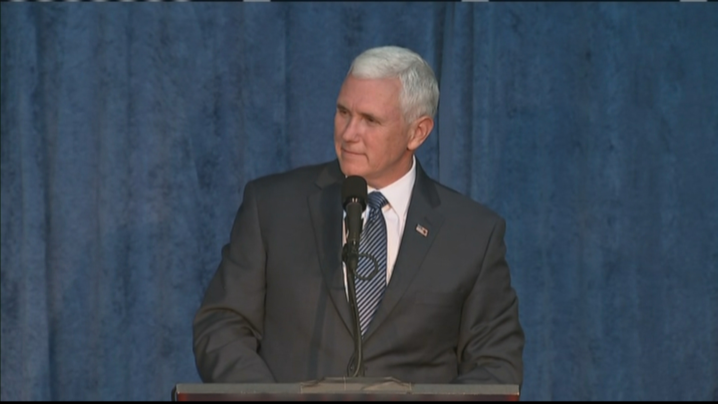 Republican Vice Presidential nominee Mike Pence (credit: CBS)