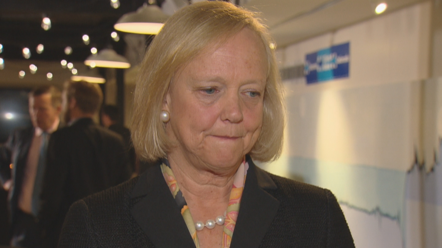 Hewlett Packard CEO Meg Whitman (credit: CBS)