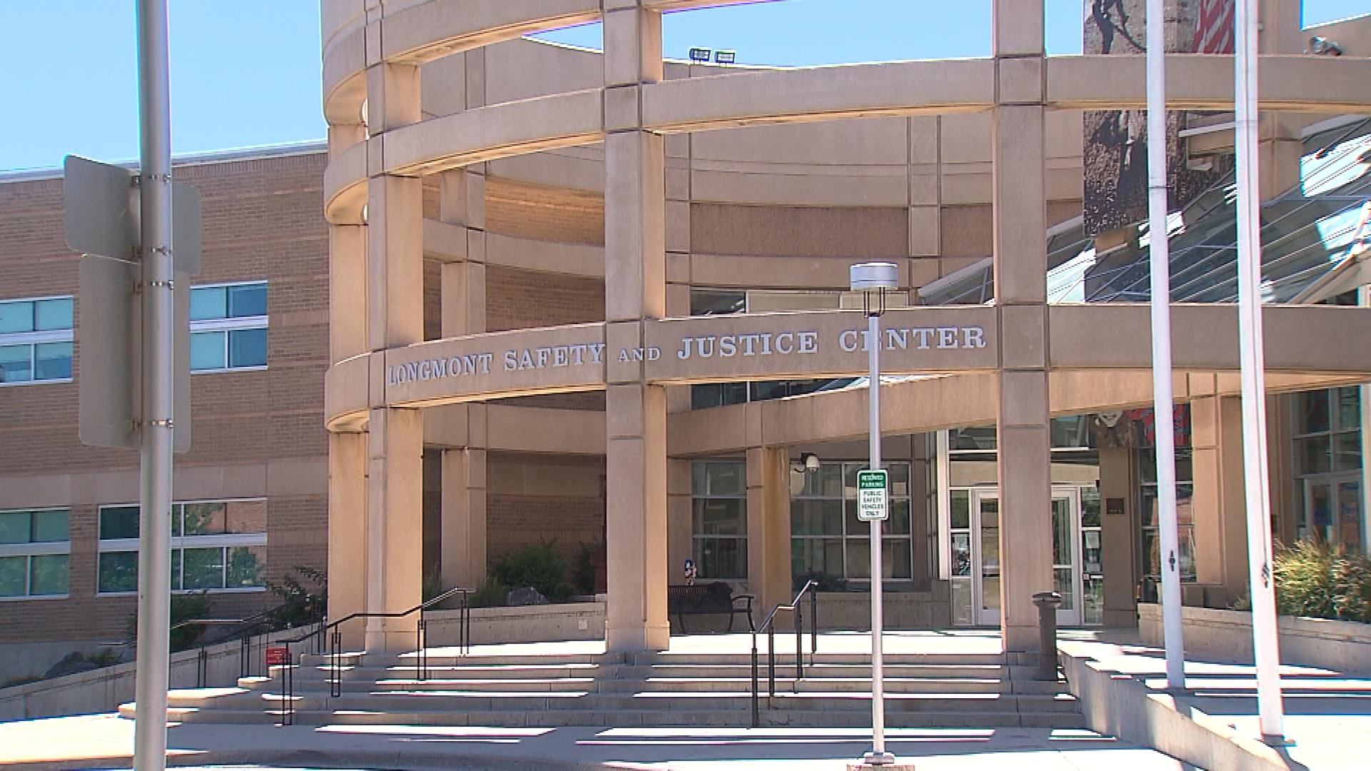 The Longmont Safety and Justice Center (credit: CBS)