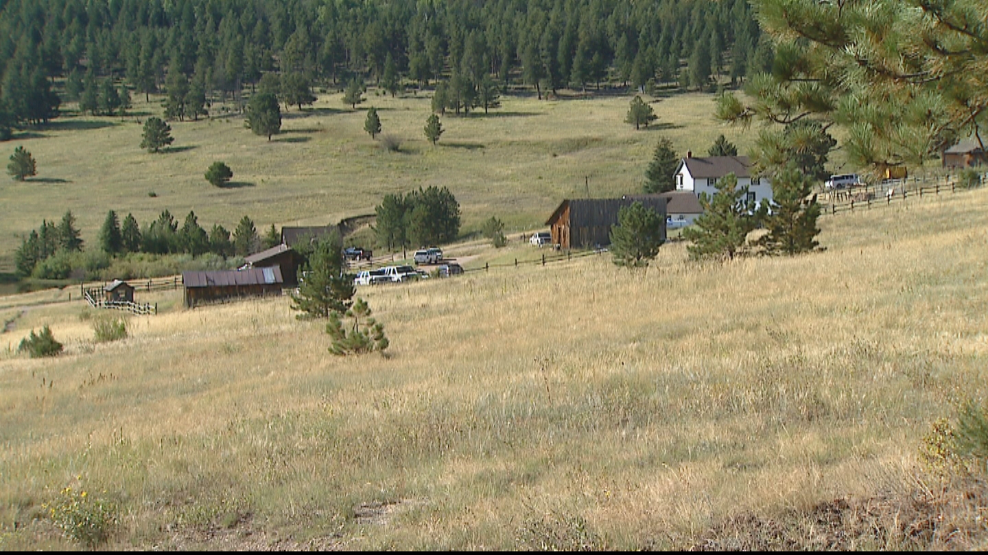 The Cal-Wood property outside of Jamestown Colorado. (Credit CBS)