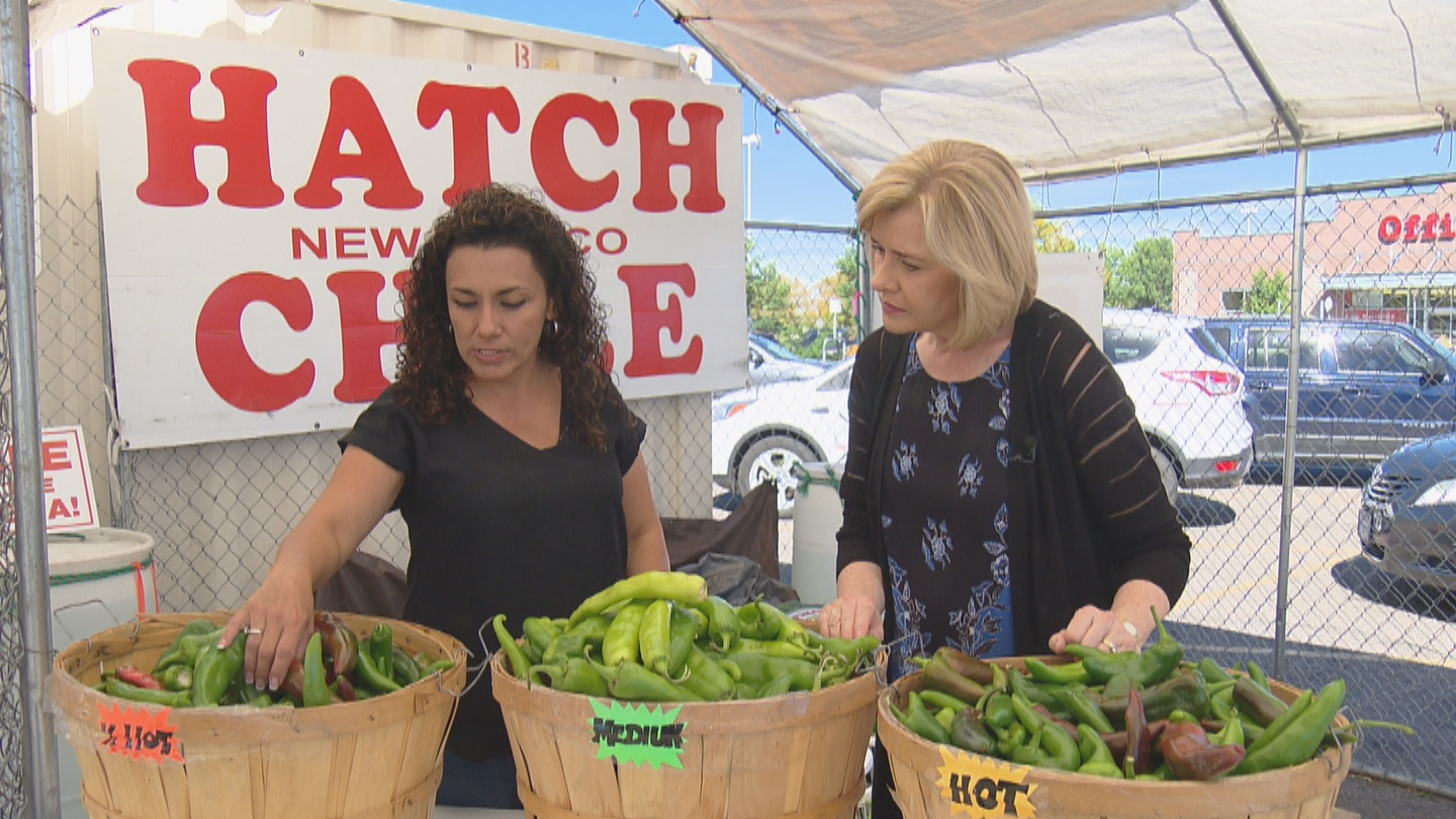 CBS4's Kathy Walsh interviews Marilyn Manchego, owner of A Taste of Questa (credit: CBS)