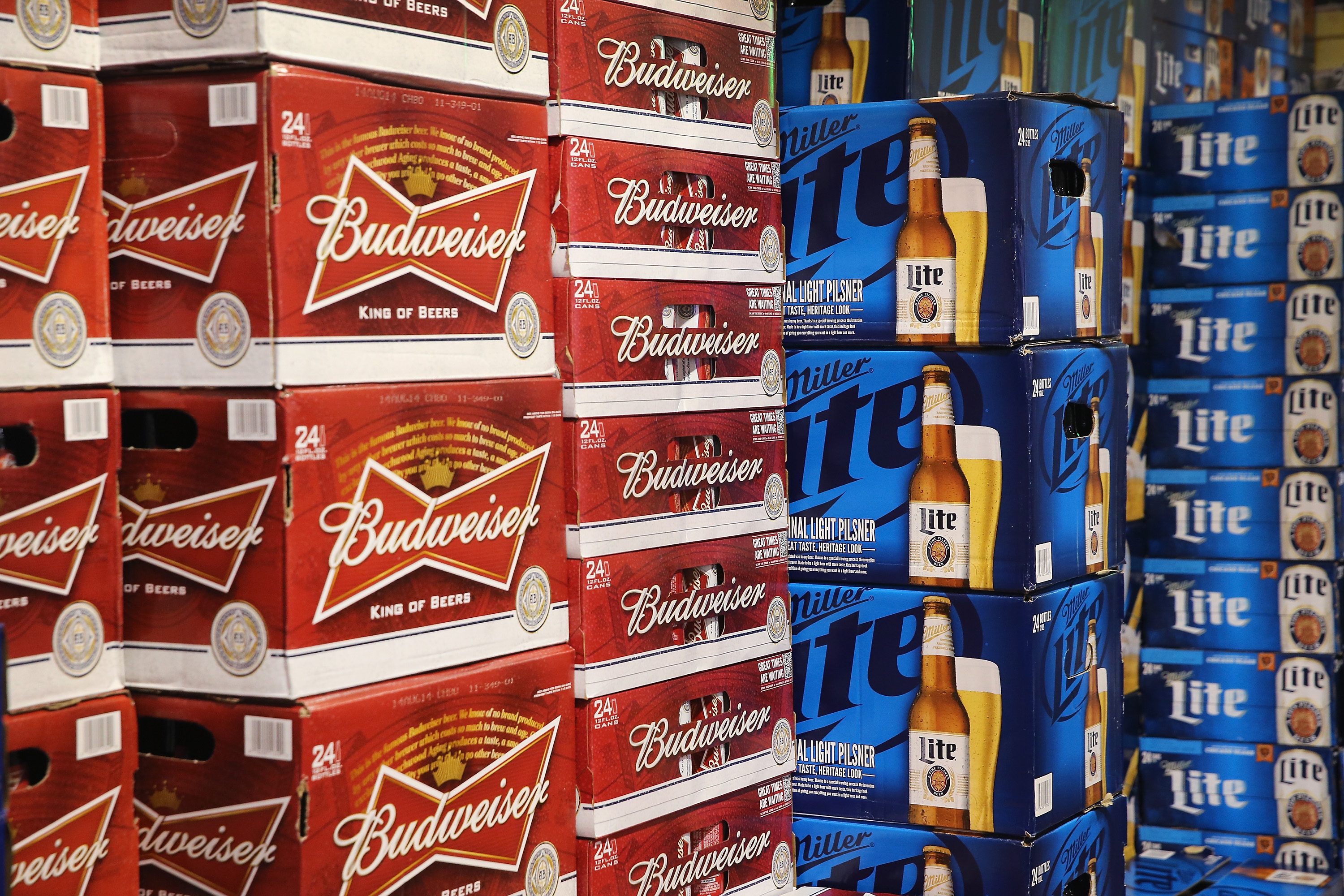 Anheuser-Busch (Photo by Scott Olson/Getty Images)