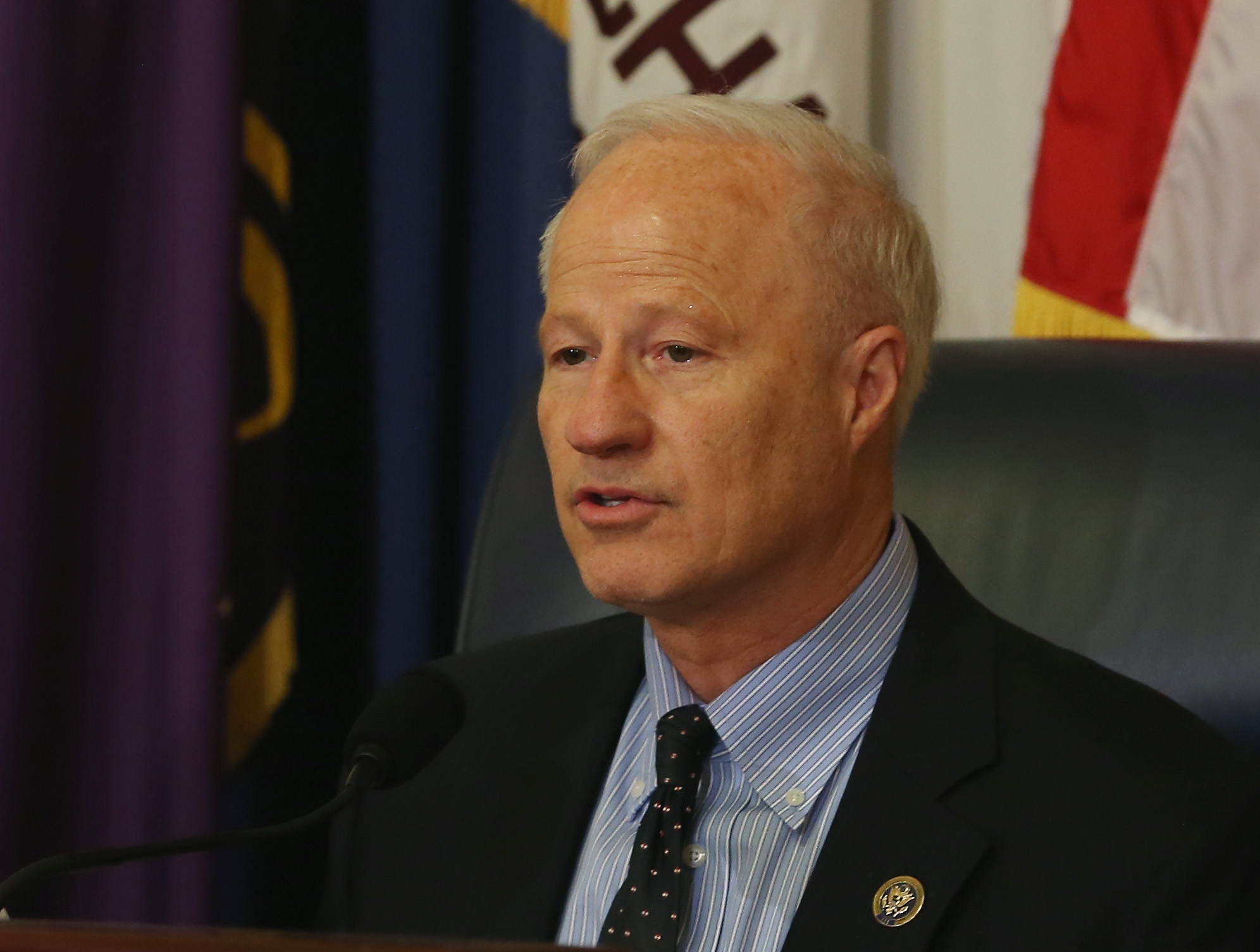 Rep. Mike Coffman (R-CO) speaks during a House Veterans Affairs Subcommittee hearing on April 13, 2014 in Washington, DC. (credit: Mark Wilson/Getty Images)