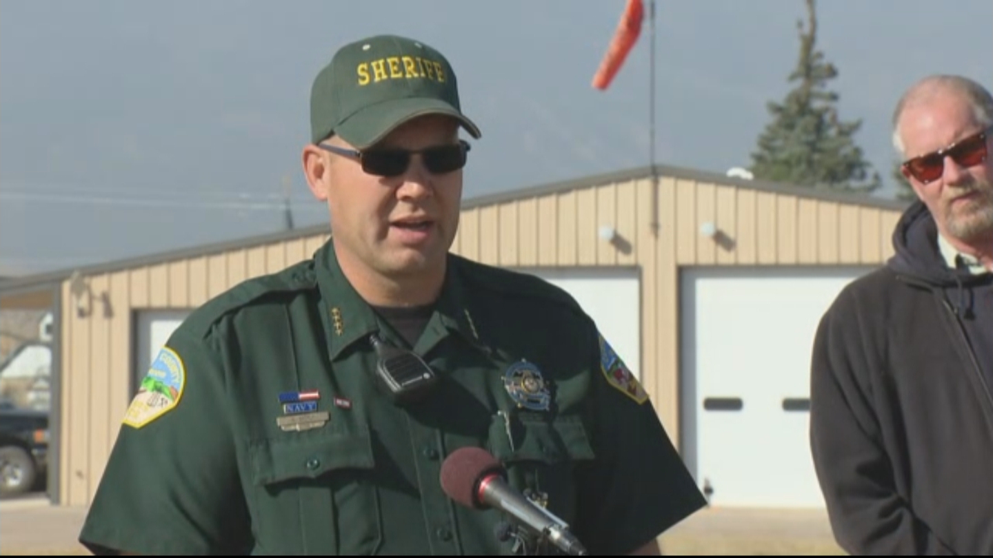 Custer County Sheriff Shannon Byerly (credit: CBS)