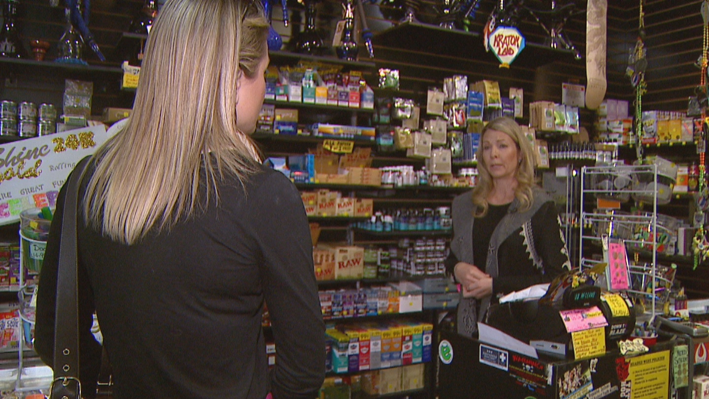 CBS4's Kelly Werthmann interviews Jennifer Mahaney of Headed West (credit: CBS)