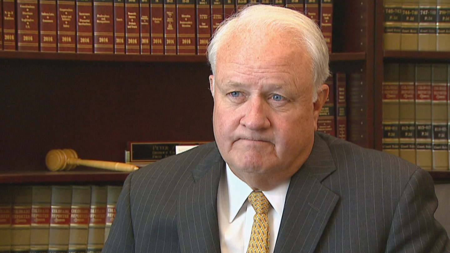 Jeffco DA Pete Weir (credit: CBS)