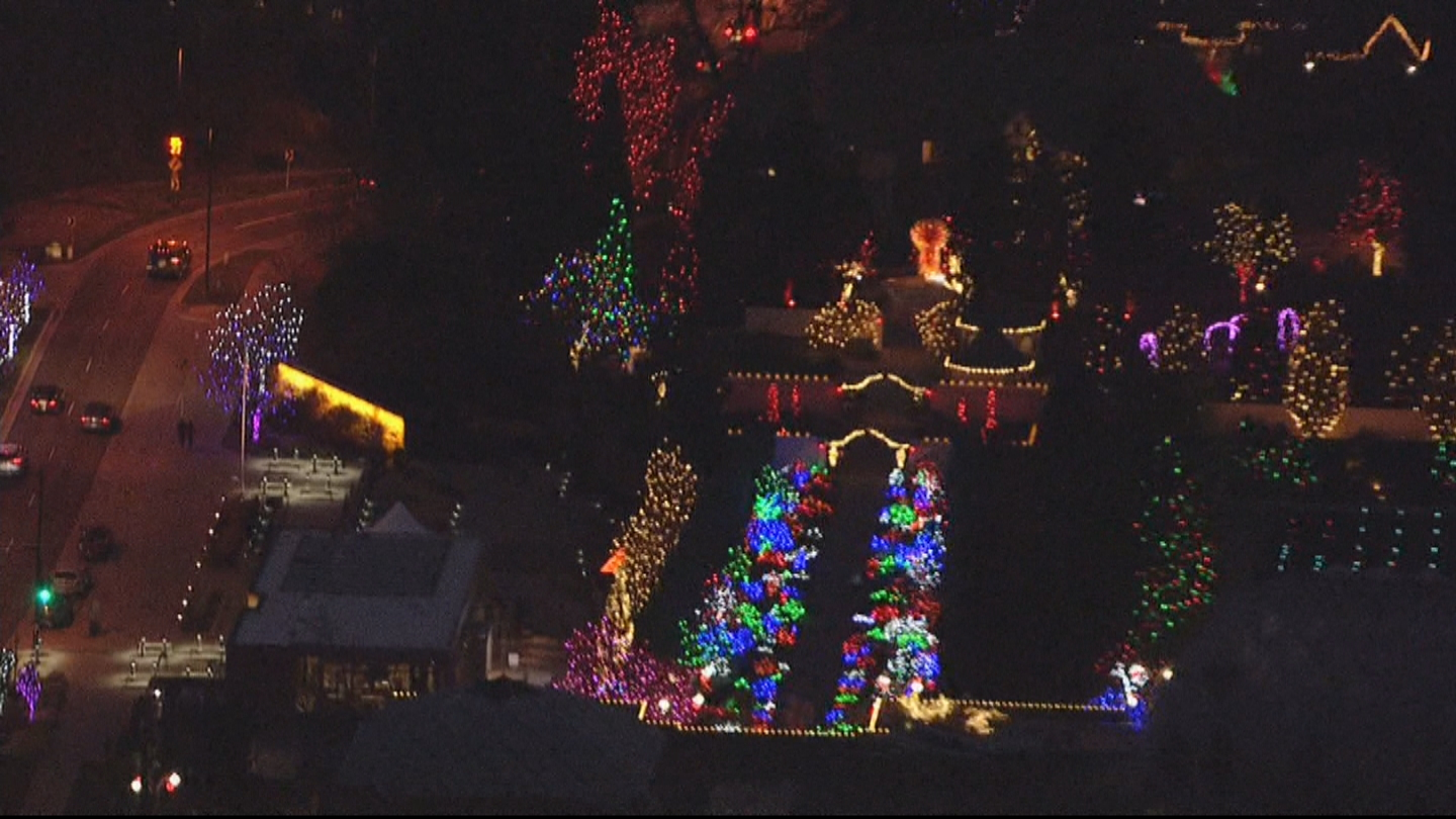 Blossoms of Light as seen by Copter 4 (credit: CBS)