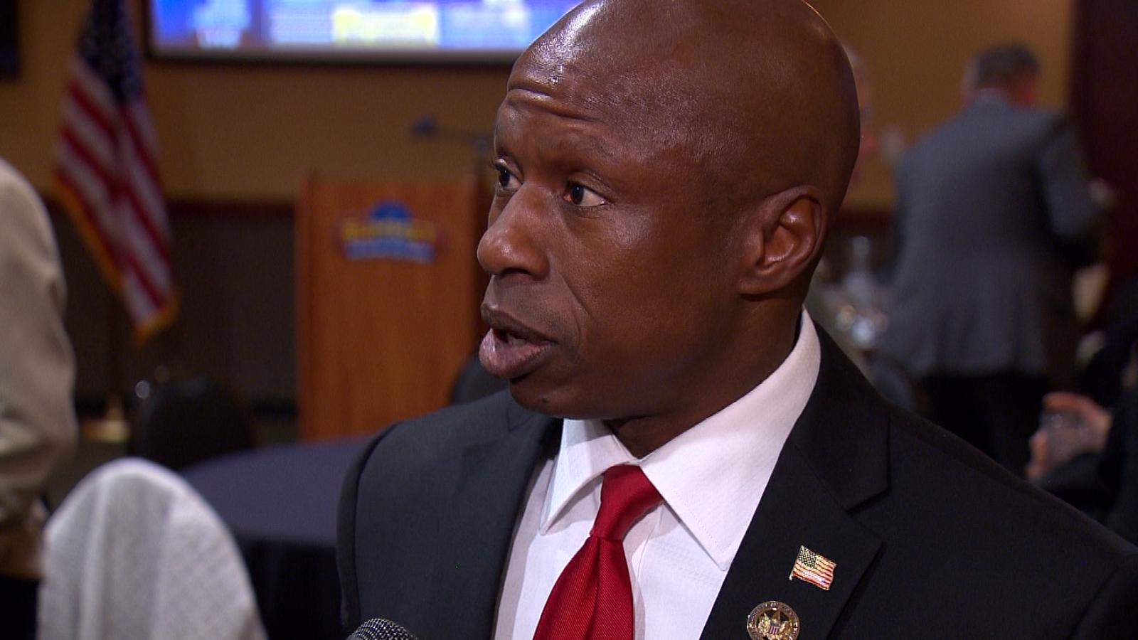 Darryl Glenn challenged Sen. Michael Bennet and lost. (credit: CBS)