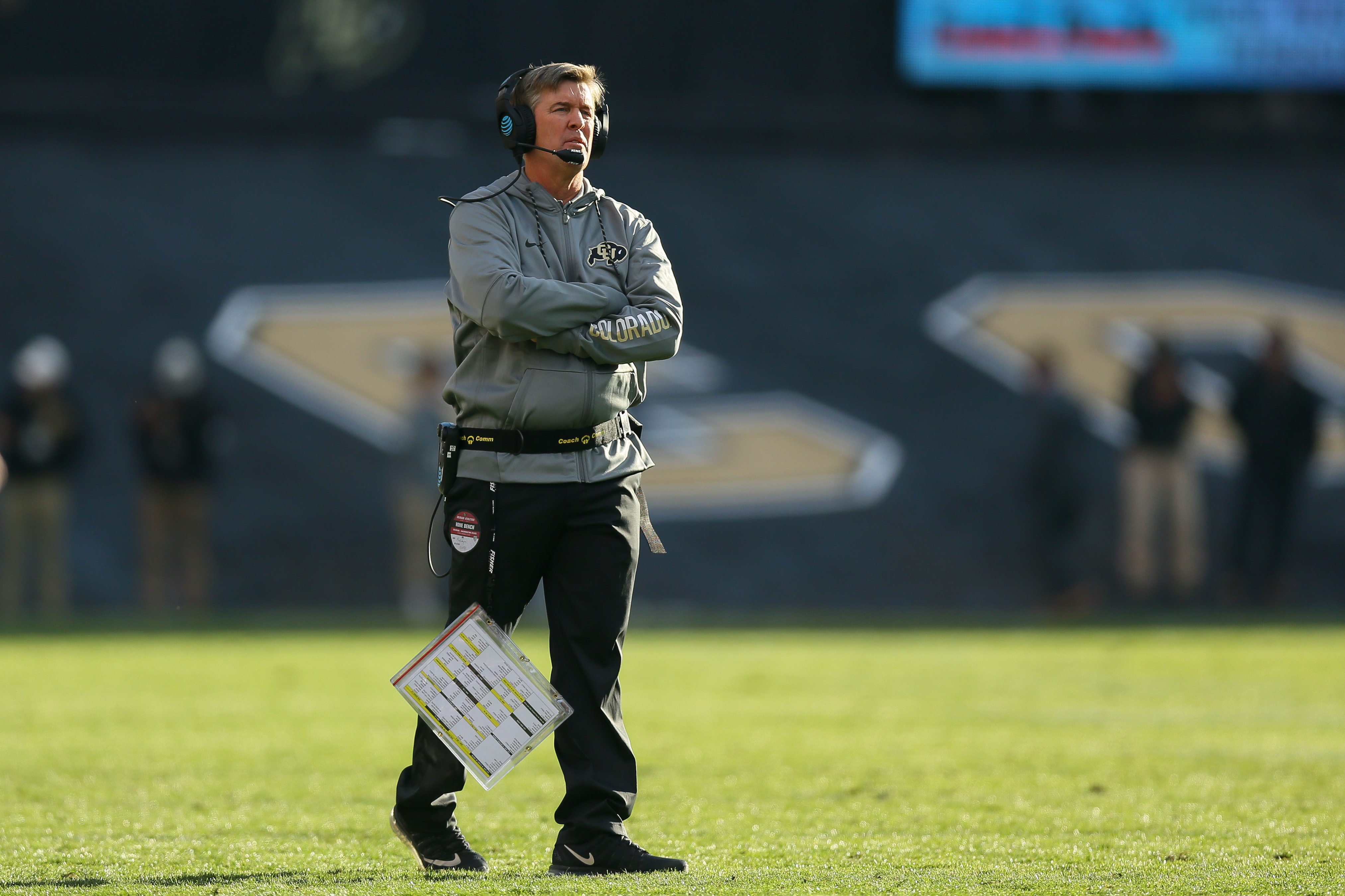 Head Coach Mike MacIntyre (Photo by Justin Edmonds/Getty Images)