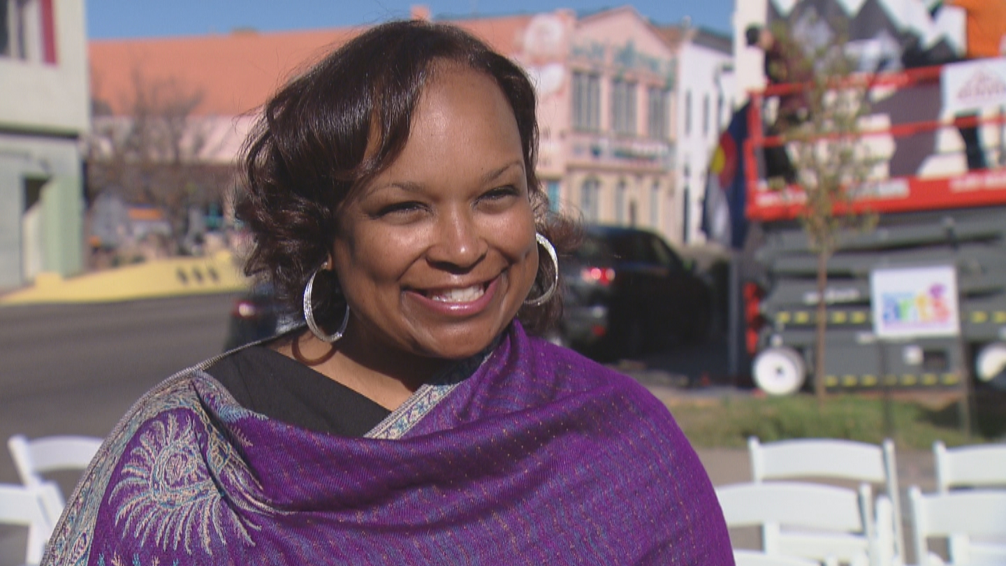 Denver First Lady Mary Louise Lee (credit: CBS)