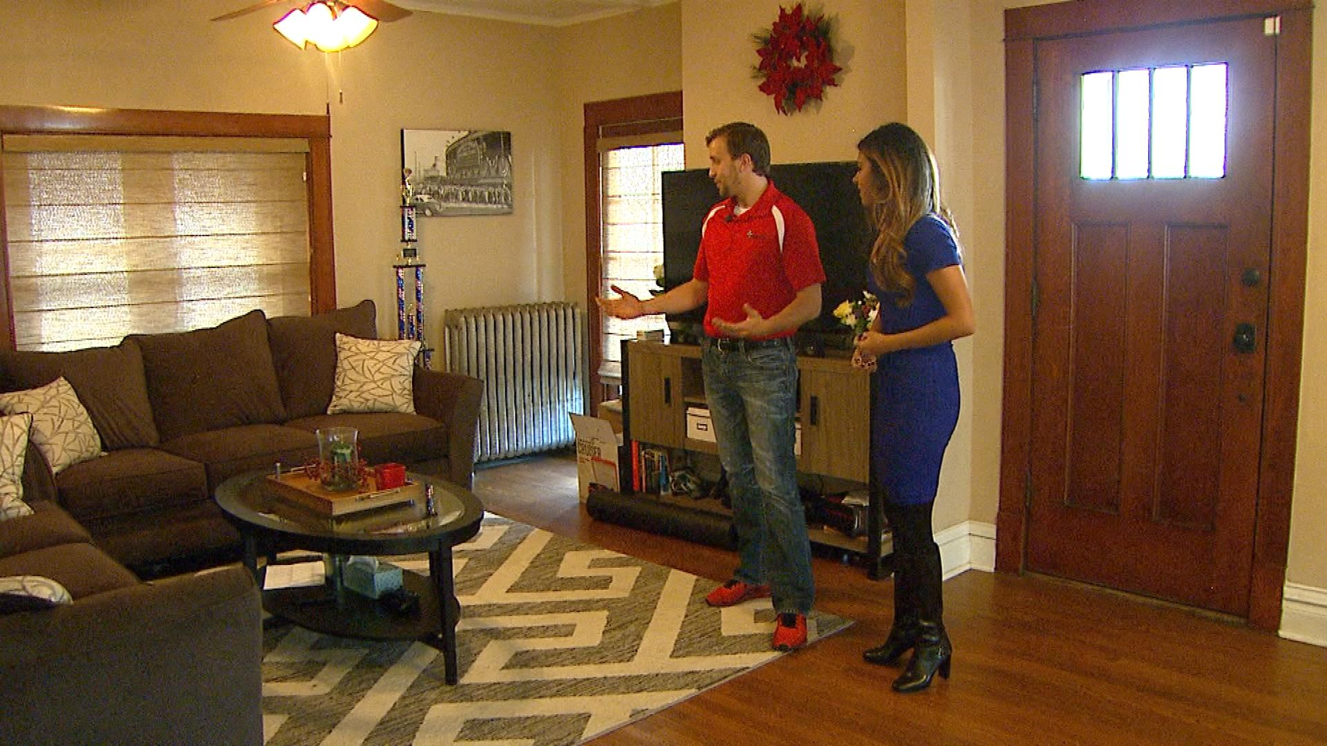 Chris Meiners is interviewed by CBS4's Andrea Flores (credit: CBS)