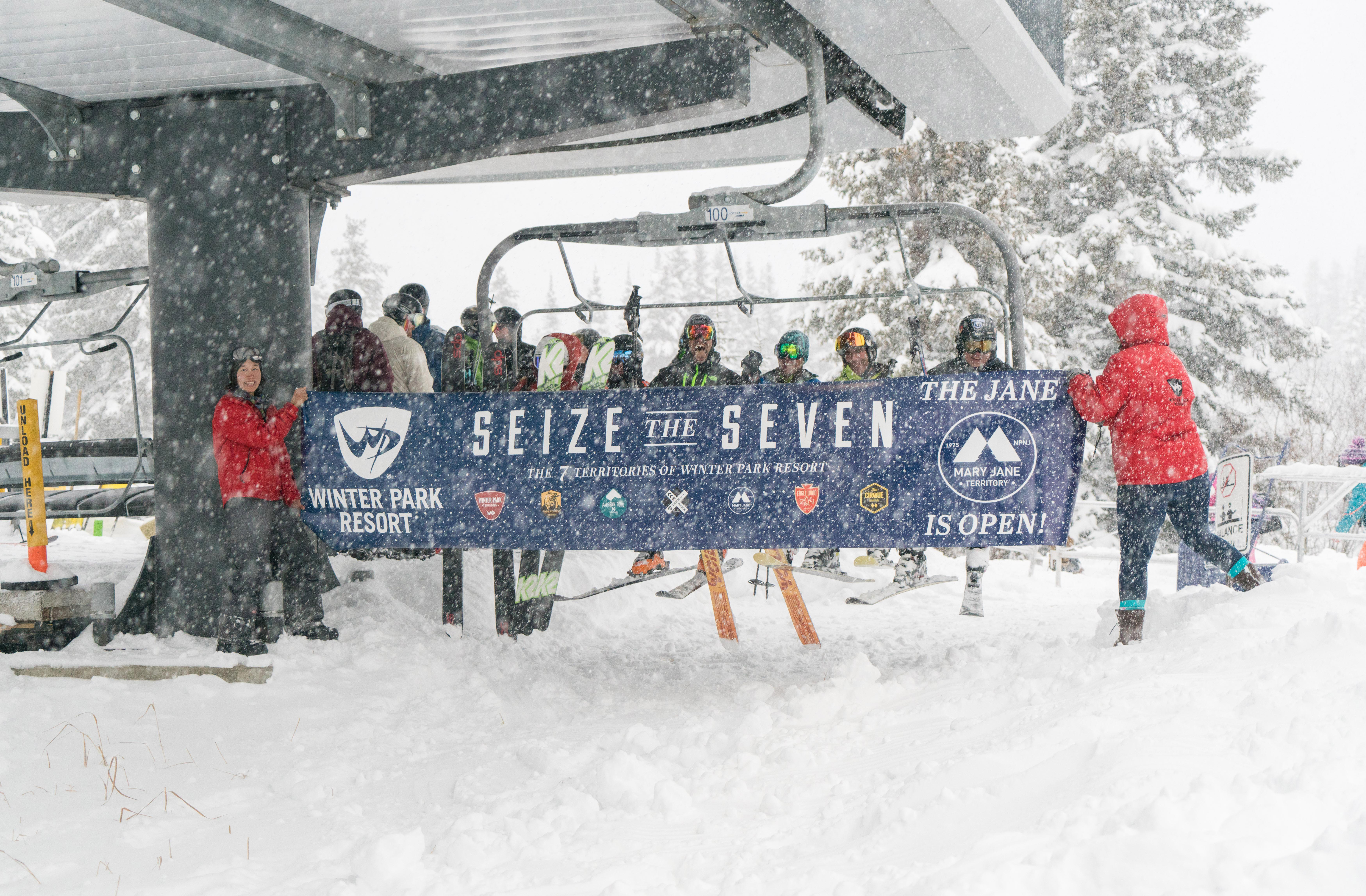 Mary Jane Ski Area opens (credit: Carl Frey/Winter Park)
