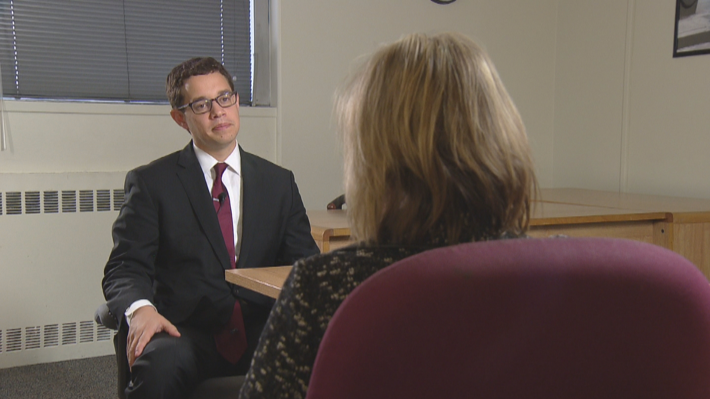 CBS4 Political Specialist Shaun Boyd interviews Andrew Freedman, Director of Marijuana Coordination for the State of Colorado (credit: CBS)