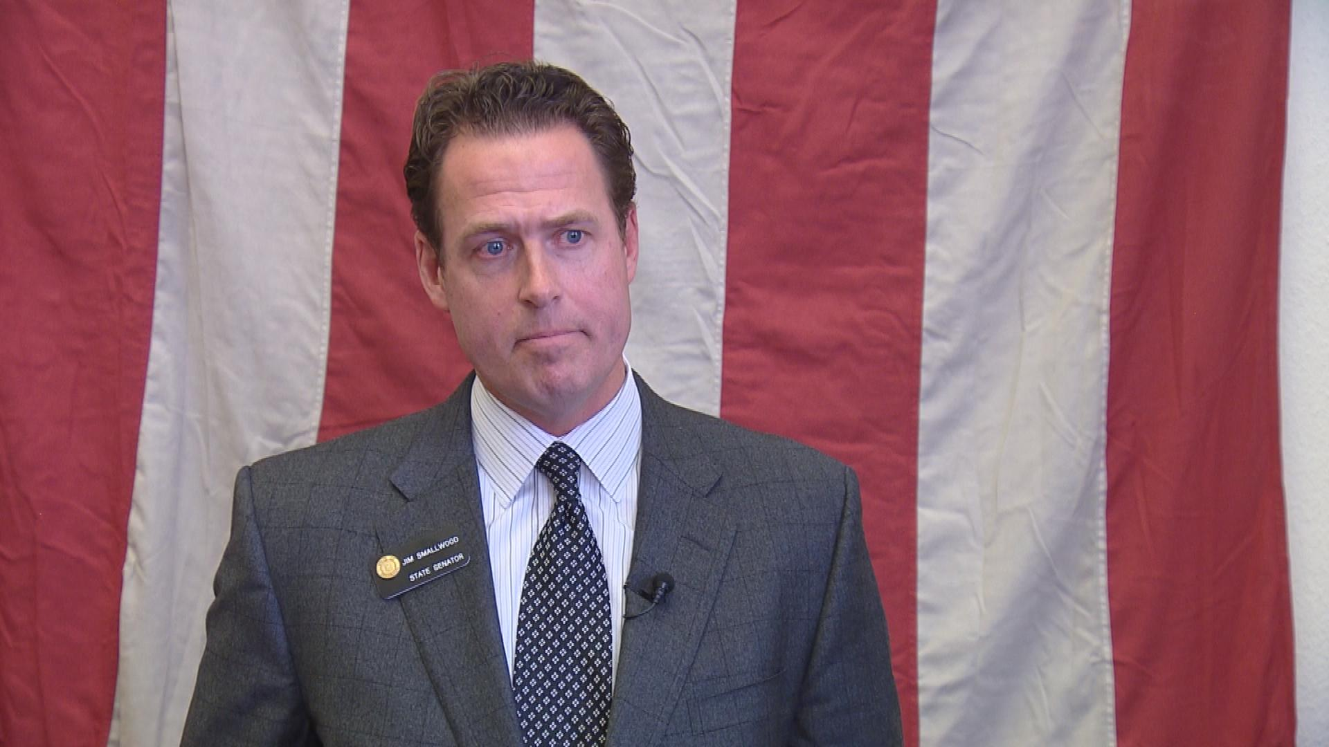 Sen. Jim Smallwood, R-Douglas County (credit: CBS)