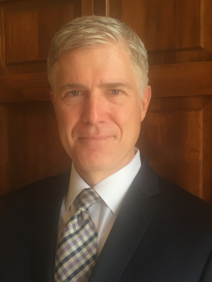 Neil Gorsuch (credit: 10th Circuit Court Of Appeals)