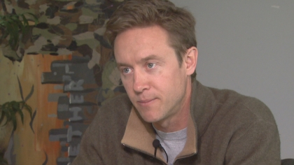 Mike Johnston (credit: CBS)
