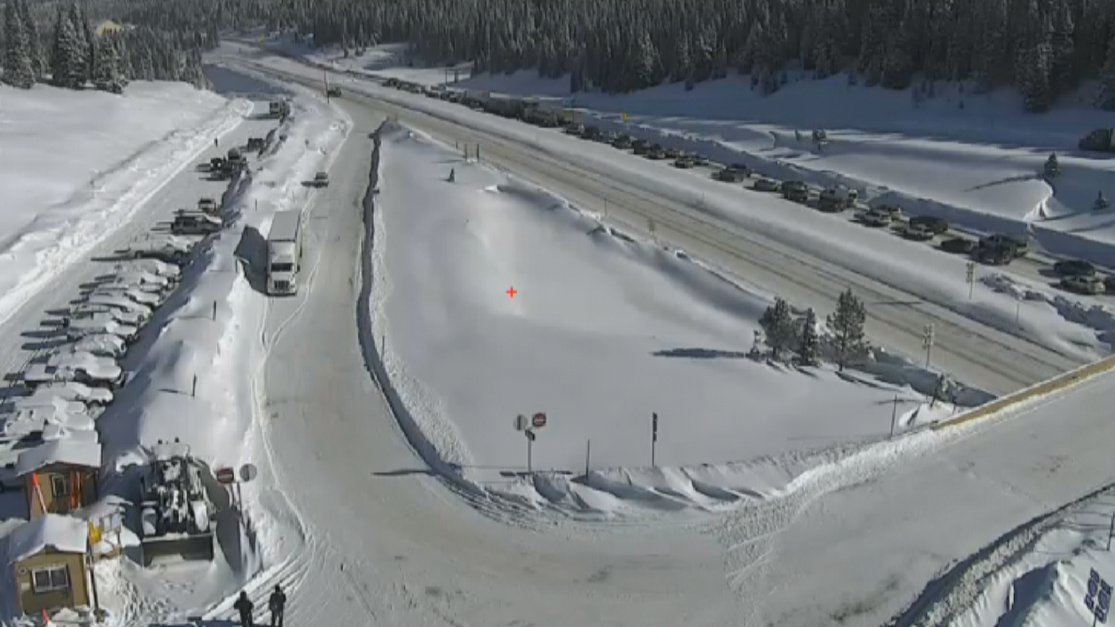 Vail Pass closure (credit: Colorado Department of Transportation)